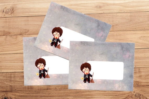 Envelope Pack - Harry Potter and Friends