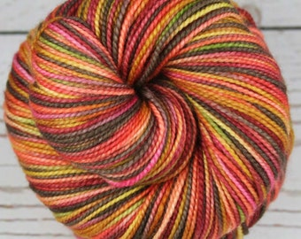 UKELELES: Superwash Merino Wool-Nylon - Fingering / Sock Weight Yarn - Hand dyed sock yarn - Indie dyed - Variegated yarn - Hawaii inspired
