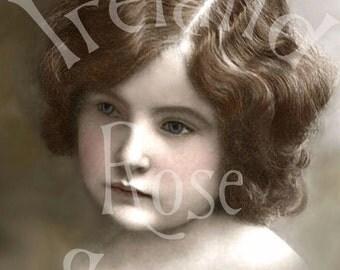 Leisle-Victorian/Edwarian Child-Digital Image Download