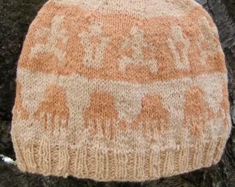 Wool Hat: Canyonlands Petroglyph Anasazi People