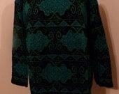 Women's Vintage Dana Scott Pullover Tunic Sweater  Sz M