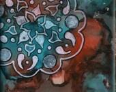 Mandala Art Magnet: Hand-...
