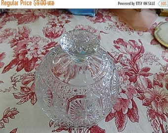 EAPG Pressed Glass Dish Cover - Replacement Lid - Cheese Butter Dish