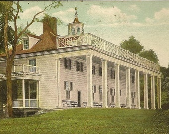 Mt Vernon Mansion Virginia – Unused Undivided Back Antique Postcard A C Bosselman – Historic Landmark