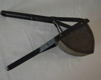 Vintage Henis Press Registered, Fruit, Potato or Rice Press, Handheld