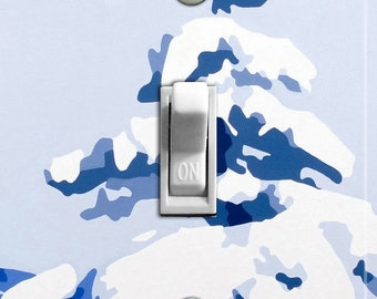 WINTER TREE by Kristen Anderson Switch Plate (single)  - - FREE Shipping - -