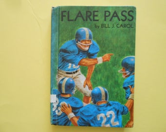 Flare Pass, a Vintage Children's Book About Football