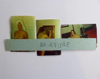 "3 MATURE  Sex Original Color Photos Sixties Hippie Erotic Photos 4"" x 6"" Blonde Natural Sex Sexual L3"