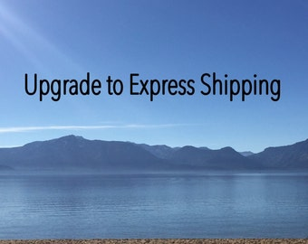 Upgrade to express shipping in USA