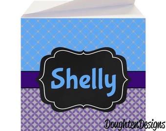 Sticky Note Cube Etsy