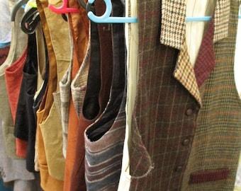Vintage Womens Wholesale Lot x 23 Waistcoats Vests Joblot