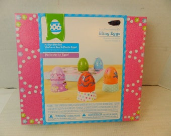 Bling themed Egg craft decorating kit children