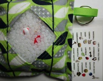 I Spy Bag for SENIORS, Memory, Occupational Therapy, Rehabilitation, Dementia, Alzheimers, Elder Care, Stress Reduce, Sensory Fidget stroke