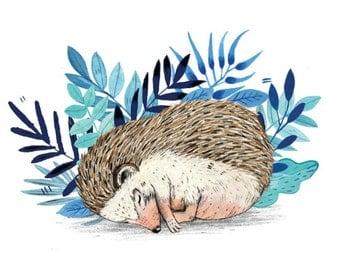 Hedgehog // Greeting Card