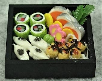 Miniature A Tray Of Sushi - ATS06