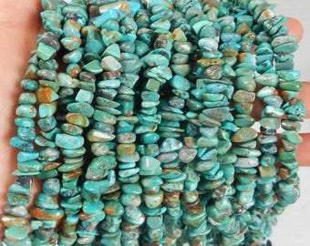 Natural, BIG  turquoise chips   (10-12x2-5mm), natural turquoise chips, turquoise nuggets