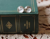 SALE Jane Austen earrings | book jewelry | home is where the heart is | mom gift | gift for her
