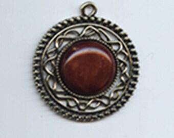 Antique Gold Tone Pendant