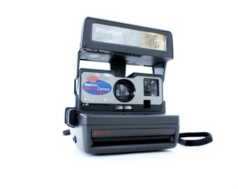 Talking Polaroid Camera QPS OneStep - Film Tested Working