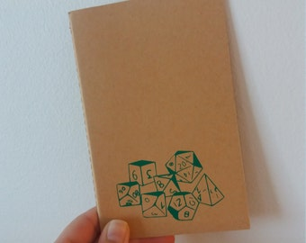 Dice Mini Journal