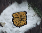 Vintage Bulldog Chenille Patch
