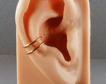 SALE - Ear Cuff Copper Double Band