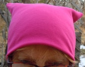 hot pink knit limited edition pussyhat