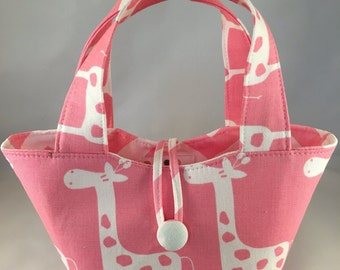 "Baby doll diaper bag ""Mommy & Me Set"" - Giraffee"