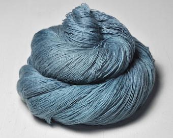 Hazy winter sky -  Merino/Cashmere Fine Lace Yarn