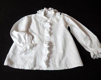 Vintage French Bed Jacket or Blouse