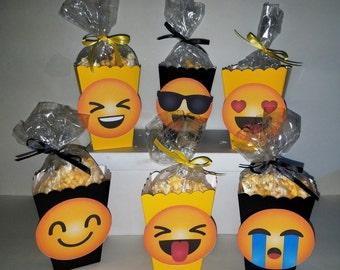 Emojis Snack Boxes - Set of 10