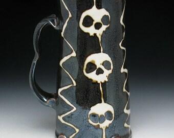 JUMBO Shazam Skull Beer Stein