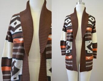 1970s Pandora Cardigan Sweater