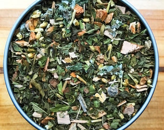 Cramp Relief Tea - Herbal Tea, Organic Herbs - Soothes and provides relief for the symptoms of muscle cramps