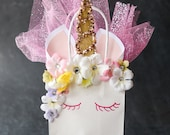 Unicorn Gift Bag (RESERVED for Renesa)