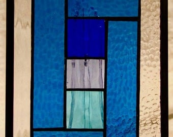 Blue Monday Stained Glass