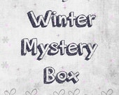 Winter Mystery Box, Jewelry Box, The Lucky Dip, Winter, Christmas, Jewelry Surprise Box