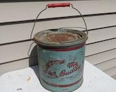 Vintage Minnow Bucket.