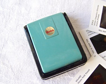 Vintage Kodak Slide Viewer Kodaslide Pocket Viewer Mint Green 1950s