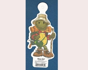 Suzy's Zoo Scrapbook Card Stock Die Cut Character CORKY TURTLE #83004