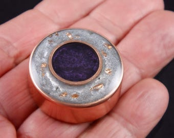 Orgonite® Orgone Pocket Size .. Arkansas Crystal, Phenacite, Petalite, Selenite, Rhodizite, Black Tourmaline, Elite Shungite, Mica (a24)