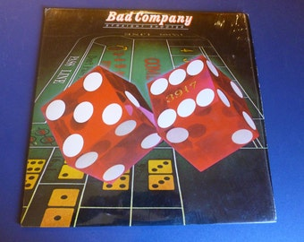 Bad Company Straight Shooter Vinyl Record SS 8413 Swan Song Records 1975