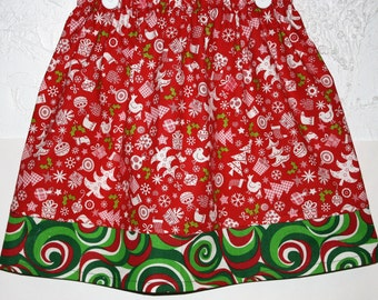 Christmas Skirt   Size 6 left