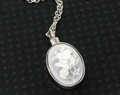 free shipping//Memorial Urn Pendant / Stainless Steel Cremation Jewelry / Ash Holder Necklace / Sympathy Gift
