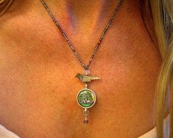 Silver Oak Tree Jewelry |Oak Tree Pendant for her|oak tree gift idea |oak tree for her|Oak Tree Gift
