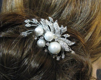 Bridal Hair Comb, Rhinestone Comb, Hair Accessory, Bridal accessory, Wedding Jewelry, Rhinestone Hair Comb, Hair comb, Bridal Jewelry