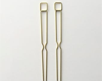 Square Hairpins