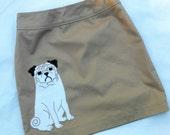 Special Order for Ivanacker:  Pug Skirt