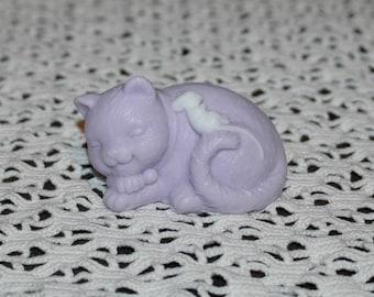 Cat Soap ~ Kitten Soap ~ Cat and Mouse Soap ~ Kitty Soap ~ Sleepy Kitty Soap ~ Best Friends Soap ~ Goat's Milk Soap ~ Children's Soap