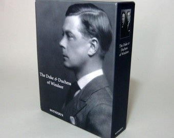 Duke and Duchess of Windsor, Sotheby's Catalog , Duke & Duchess of Windsor, Duchess of Windsor, Duke of Windsor, Sotheby's Auction Book